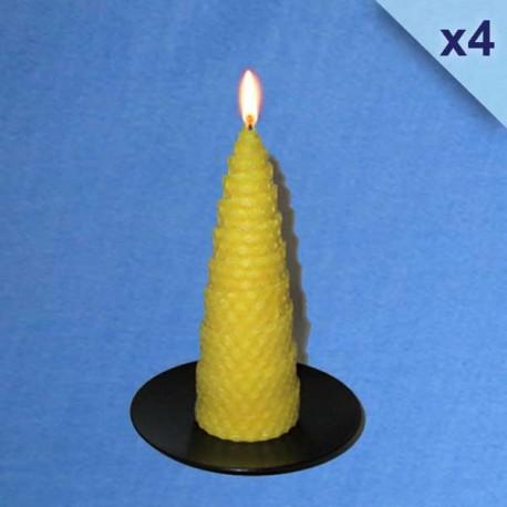bougies-cire-abeille-naturelle-torsadées-4-5x13