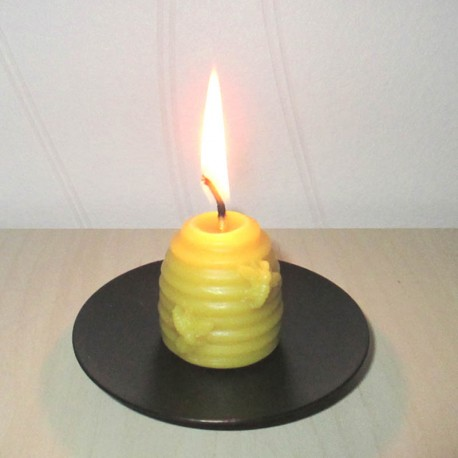 Beeswax candle hive