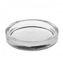 Round glass cup