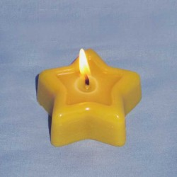 """Shining Star"" candle"