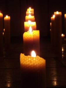 bougies cire abeille