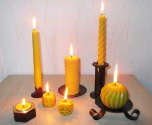bougies-en-cire-d-abeille